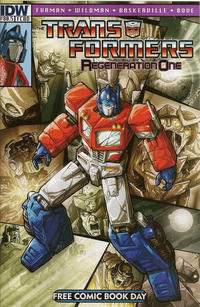 Cover for Transformers: Regeneration One (IDW, 2012 series) #80.5