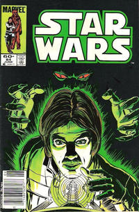 Cover Thumbnail for Star Wars (Marvel, 1977 series) #84 [Newsstand]