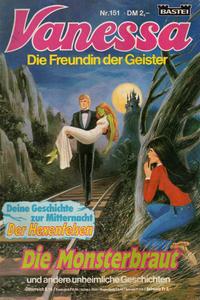 Cover Thumbnail for Vanessa (Bastei Verlag, 1982 series) #151