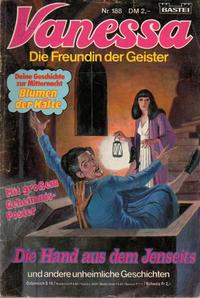 Cover Thumbnail for Vanessa (Bastei Verlag, 1982 series) #188