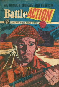 Cover Thumbnail for Battle Action (Horwitz, 1954 ? series) #18