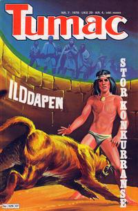Cover Thumbnail for Tumac (Semic, 1978 series) #7/1978