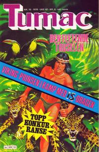 Cover Thumbnail for Tumac (Semic, 1978 series) #10/1978
