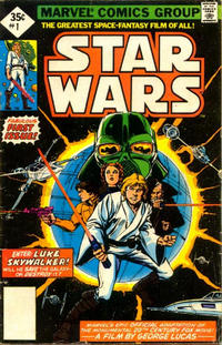 Cover Thumbnail for Star Wars (Marvel, 1977 series) #1 [35¢ Whitman Edition]