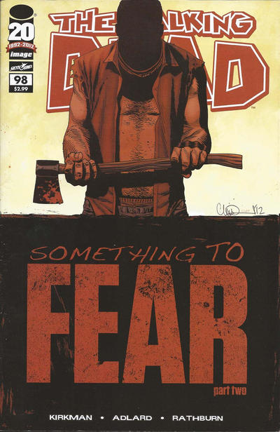 Cover for The Walking Dead (Image, 2003 series) #98 [Second Printing]