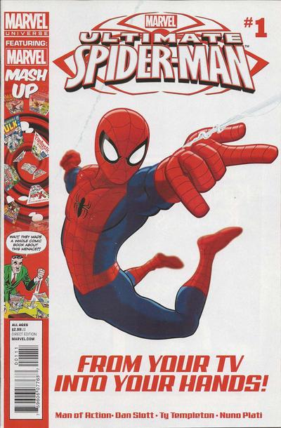 Cover for Marvel Universe Ultimate Spider-Man (Marvel, 2012 series) #1