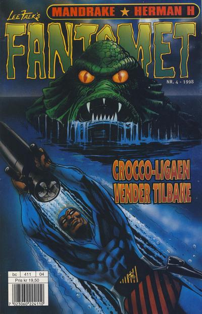 Cover for Fantomet (Hjemmet / Egmont, 1998 series) #4/1998