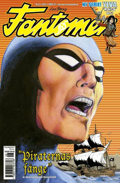 Cover for Fantomen (Egmont, 1997 series) #8/2012
