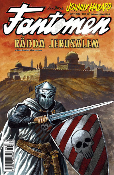 Cover for Fantomen (Egmont, 1997 series) #9/2012