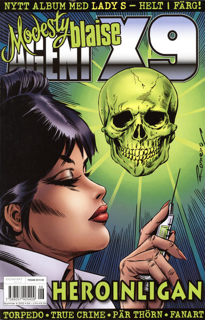 Cover for Agent X9 (Egmont, 1997 series) #6/2012