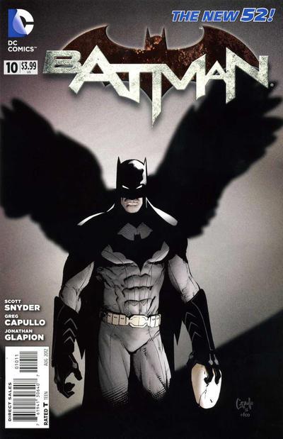 Cover for Batman (DC, 2011 series) #10