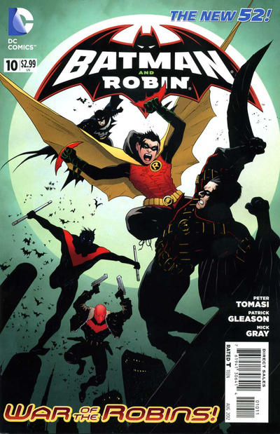 Cover for Batman and Robin (DC, 2011 series) #10