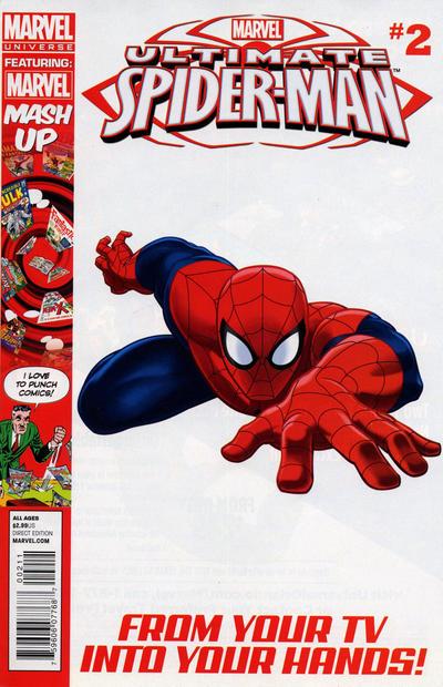 Cover for Marvel Universe Ultimate Spider-Man (Marvel, 2012 series) #2