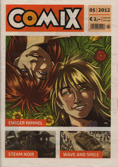 Cover for Comix (JNK, 2010 series) #5/2012