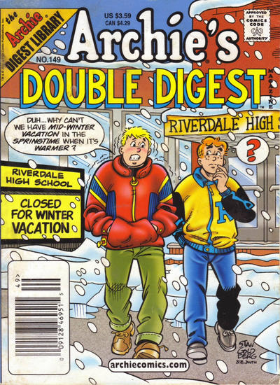 Cover for Archie's Double Digest Magazine (Archie, 1984 series) #149 [Direct]