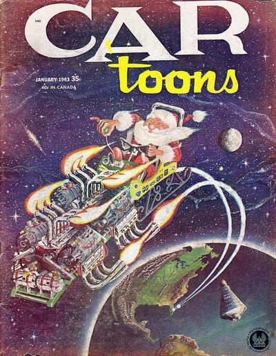 Cover for CARtoons (Petersen Publishing, 1961 series) #9