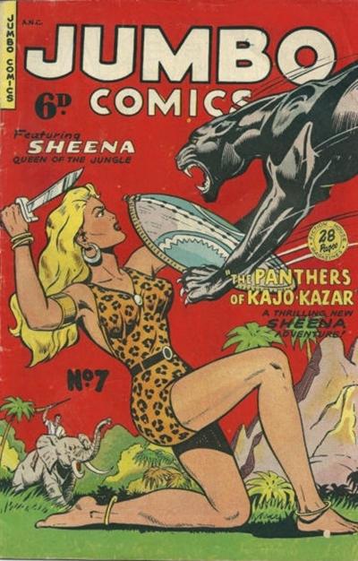 Cover for Jumbo Comics (H. John Edwards, 1950 ? series) #7