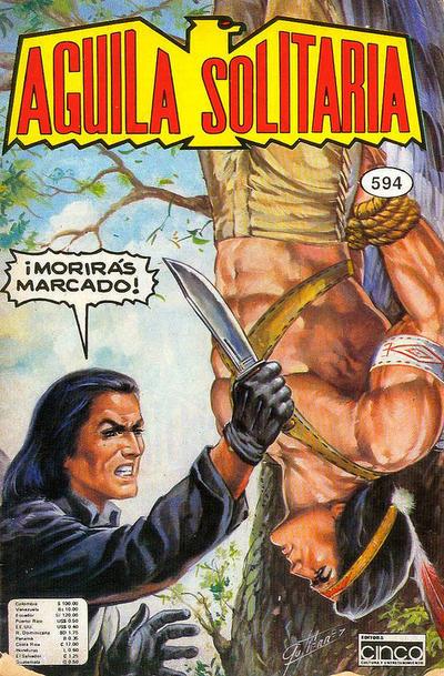 Cover for Aguila Solitaria (Editora Cinco, 1976 ? series) #594