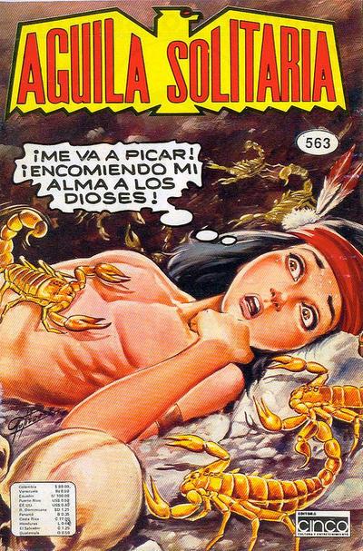 Cover for Aguila Solitaria (Editora Cinco, 1976 ? series) #563