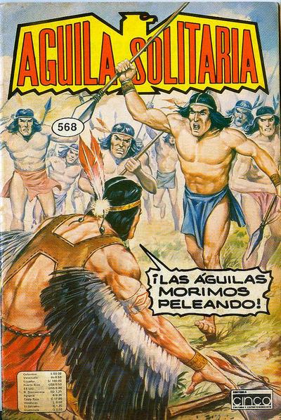 Cover for Aguila Solitaria (Editora Cinco, 1976 ? series) #568