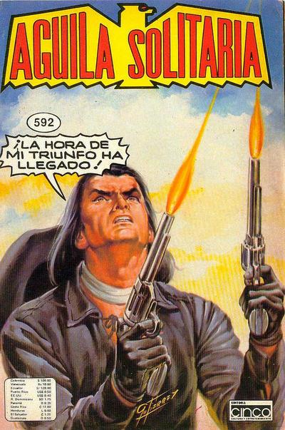 Cover for Aguila Solitaria (Editora Cinco, 1976 ? series) #592