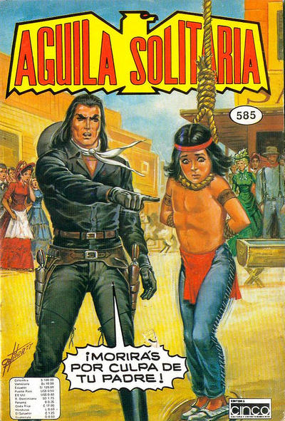 Cover for Aguila Solitaria (Editora Cinco, 1976 ? series) #585