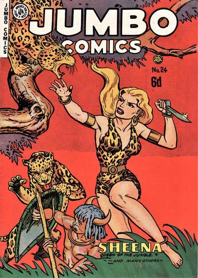 Cover for Jumbo Comics (H. John Edwards, 1950 ? series) #24