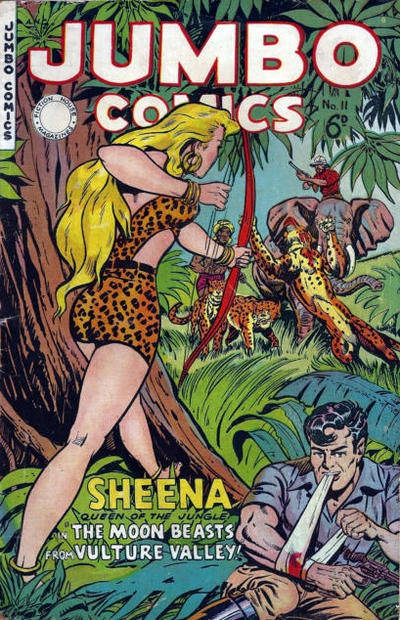 Cover for Jumbo Comics (H. John Edwards, 1950 ? series) #11