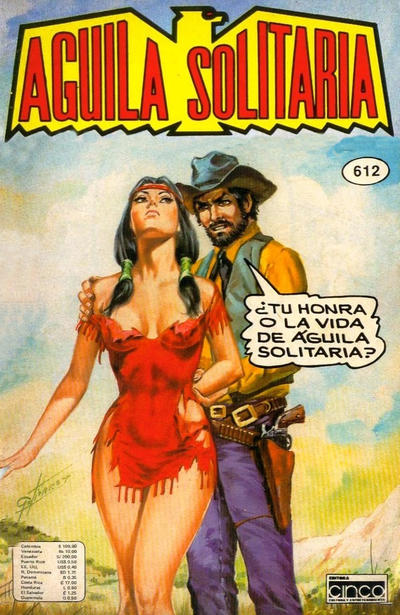 Cover for Aguila Solitaria (Editora Cinco, 1976 ? series) #612