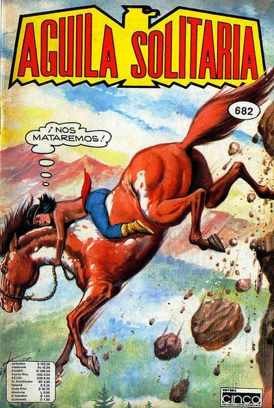 Cover for Aguila Solitaria (Editora Cinco, 1976 ? series) #682