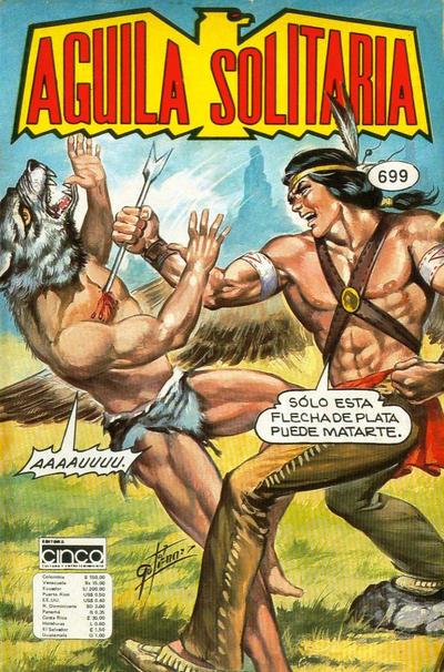 Cover for Aguila Solitaria (Editora Cinco, 1976 ? series) #699