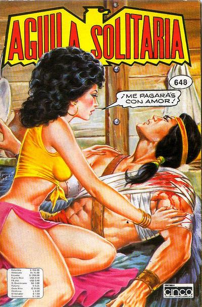 Cover for Aguila Solitaria (Editora Cinco, 1976 ? series) #648