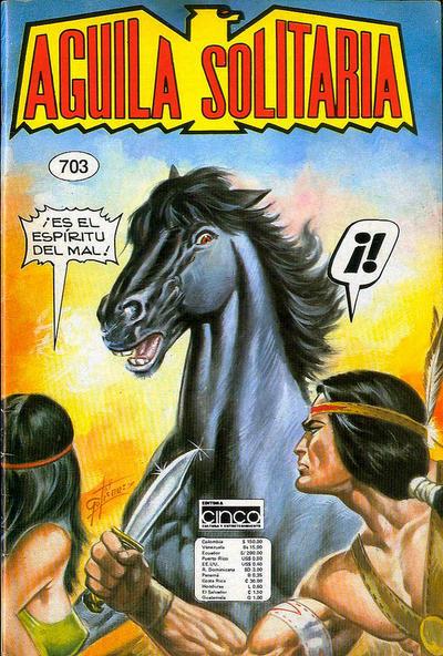 Cover for Aguila Solitaria (Editora Cinco, 1976 ? series) #703