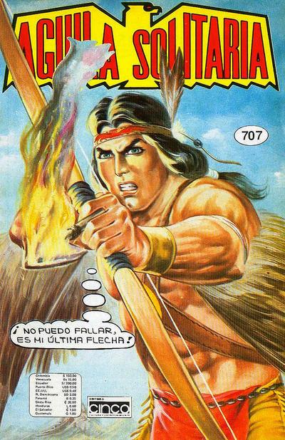Cover for Aguila Solitaria (Editora Cinco, 1976 ? series) #707