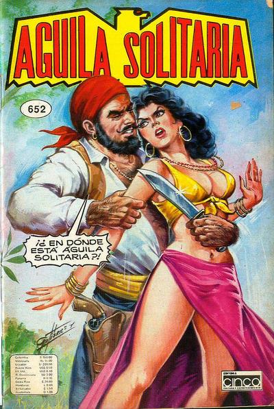 Cover for Aguila Solitaria (Editora Cinco, 1976 ? series) #652