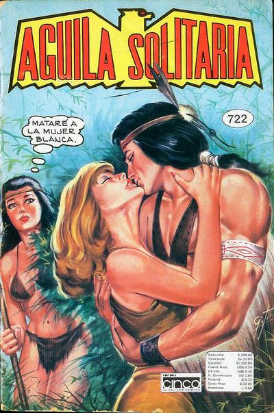 Cover for Aguila Solitaria (Editora Cinco, 1976 ? series) #722