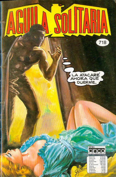 Cover for Aguila Solitaria (Editora Cinco, 1976 ? series) #718