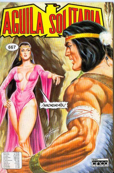 Cover for Aguila Solitaria (Editora Cinco, 1976 ? series) #667