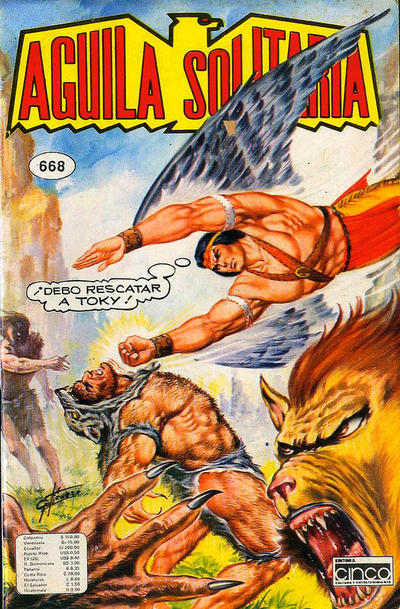 Cover for Aguila Solitaria (Editora Cinco, 1976 ? series) #668