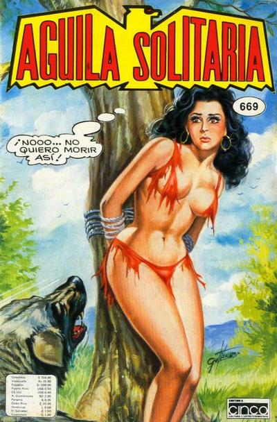 Cover for Aguila Solitaria (Editora Cinco, 1976 ? series) #669