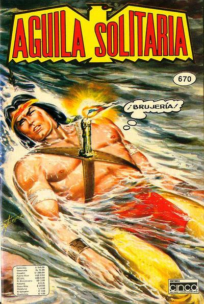 Cover for Aguila Solitaria (Editora Cinco, 1976 ? series) #670