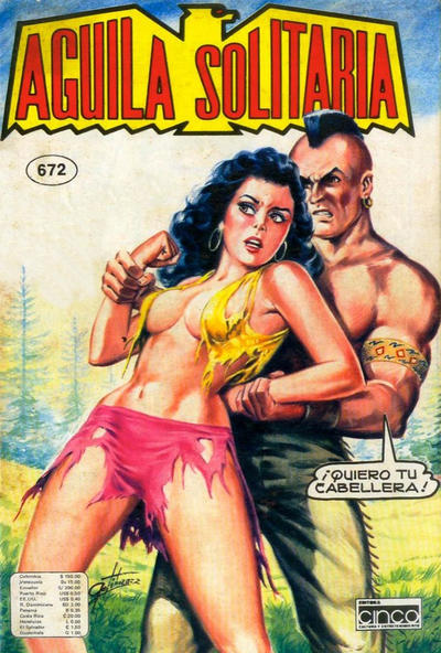 Cover for Aguila Solitaria (Editora Cinco, 1976 ? series) #672