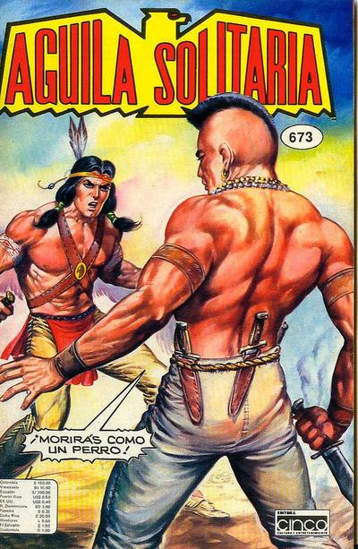 Cover for Aguila Solitaria (Editora Cinco, 1976 ? series) #673