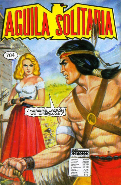Cover for Aguila Solitaria (Editora Cinco, 1976 ? series) #704
