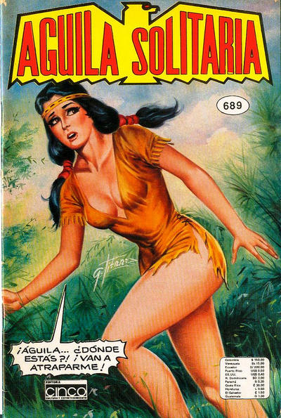 Cover for Aguila Solitaria (Editora Cinco, 1976 ? series) #689