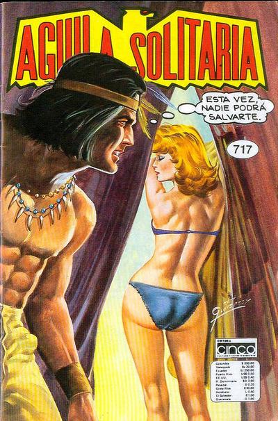 Cover for Aguila Solitaria (Editora Cinco, 1976 ? series) #717