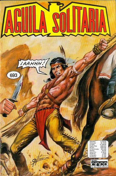 Cover for Aguila Solitaria (Editora Cinco, 1976 ? series) #693