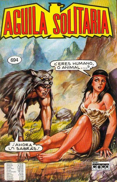 Cover for Aguila Solitaria (Editora Cinco, 1976 ? series) #694