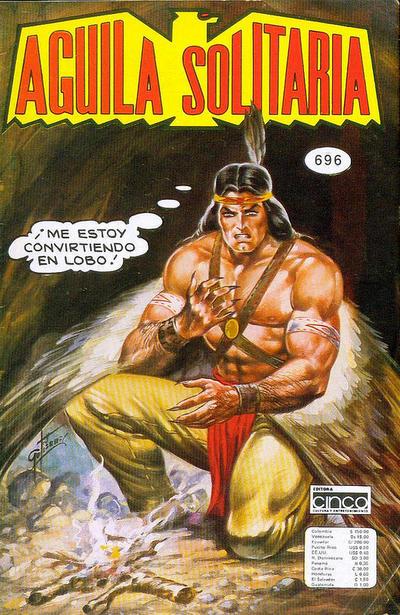 Cover for Aguila Solitaria (Editora Cinco, 1976 ? series) #696