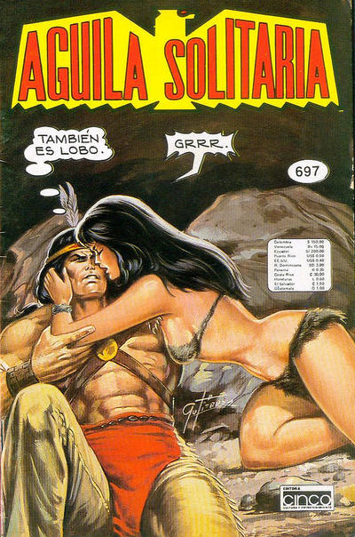 Cover for Aguila Solitaria (Editora Cinco, 1976 ? series) #697
